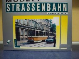 【送料無料】模型車 モデルカー スポーツカー トラムタトラkth amp; p 187 strassenbahn tatra kt4d gera