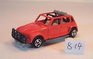 【送料無料】模型車 モデルカー スポーツカー シトロエンラリーレッド#majorette 160 nr 231 citroen dyane rallye rot 814