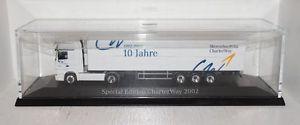 【送料無料】模型車 モデルカー スポーツカー アクトロススペシャルエディションherpa mb actros 10 jahre charterway special edition 2002 sz 187 pcovpr1_3_24