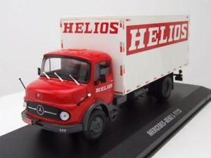 【送料無料】模型車 モデルカー スポーツカー メルセデスヘリオスモデルカーネットワークモデルmercedes l 1113 helios 1969 rotwei, modellauto 143 ixo models