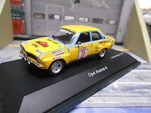 【送料無料】模型車 モデルカー スポーツカー オペルアスコナラリー#エルバイタリアopel ascona a rallye 2 rhrl conrero elba italien 1975 em schuco 143