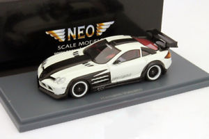 【送料無料】模型車 モデルカー スポーツカー ネオhamann volcano baujahr 2010 wei schwarz 143 neo