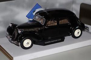 【送料無料】模型車 モデルカー スポーツカー シトロエントションcitroen 11cv traction 1937 schwarz 118 solido 118380 neu amp; ovp