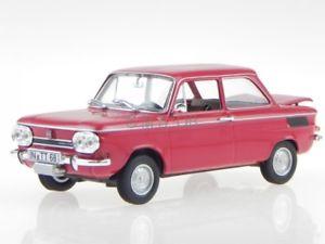【送料無料】模型車 モデルカー スポーツカー モデルカーnsu tts 1967 rot modellauto 831015 norev 143