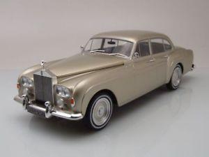 【送料無料】模型車 モデルカー スポーツカー ロールスロイスシルバークラウドフライングベージュモデルカースパーrolls royce silver cloud flying spur mulliner rhd 1965 beige modellauto 118 mcg
