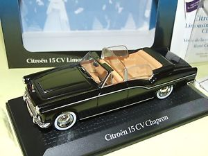 【送料無料】模型車 モデルカー スポーツカー シトロエンデカプレシェフアトラスcitroen 15cv chapron decapotable coty 1957 presidentielle chef d'tat atlas 143