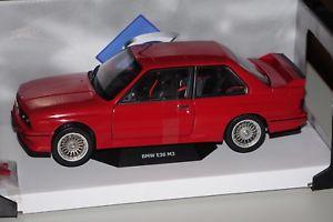 【送料無料】模型車 モデルカー スポーツカー bmw m3 e30 1986 rot 118 solido 118439 neu amp; ovp
