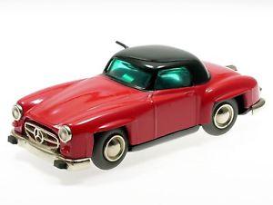 【送料無料】模型車 モデルカー スポーツカー マイクロレーサーメルセデスschuco microracer mercedes 190 sl rotschwarzes dach