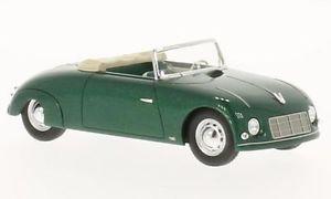 【送料無料】模型車 モデルカー スポーツカー ネオスポーツカブリオレヴェールneo 46190 waibel special sport cabriolet vert 1948 143