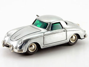 【送料無料】模型車 モデルカー スポーツカー マイクロレーサーポルシェシルバーポリッシュ#schuco microracer porsche 356 silber poliert 142