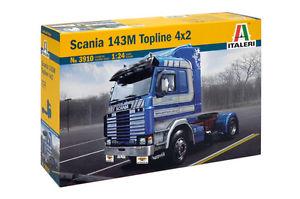 【送料無料】模型車 モデルカー スポーツカー スカニアトップラインスカラscania 143m topline 4x2 italeri 3910 scala 124