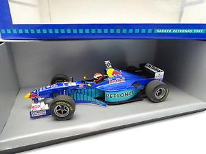 【送料無料】模型車 モデルカー スポーツカー オニキスザウバーペトロナスonyx 118 f1 sauber petronas c16 1997 herbert