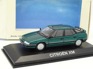 【送料無料】模型車 モデルカー スポーツカー シトロエンnorev 143 citroen xm verte
