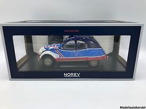 【送料無料】模型車 モデルカー スポーツカー バスケットcitron 2cv 6 1976 basket 118 norev   lt;lt;