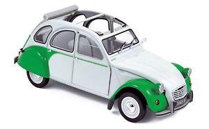 【送料無料】模型車 モデルカー スポーツカー シトロエンドリーホワイトグリーンnorev 118 181512 citroen 2cv dolly 1985, weigrn