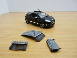 【送料無料】模型車 モデルカー スポーツカー シトロエンノワールcitroen ds3 cabrio noir 143