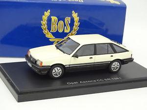 【送料無料】模型車 モデルカー スポーツカー ボスモデルオペルアスコナブランシュbos models 143 opel ascona cc sr 1981 blanche