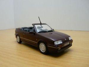 【送料無料】模型車 モデルカー スポーツカー ルノーカブリオレボルドーフェーズrenault 19 16s cabriolet bordeaux phase 1 143 r19