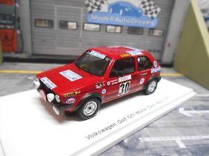 【送料無料】模型車 モデルカー スポーツカー フォルクスワーゲンフォルクスワーゲンゴルフモンテカルロラリースパーク#vw volkswagen golf gti mki rallye monte carlo 1977 30 ragnotti spark 143