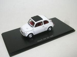 【送料無料】模型車 モデルカー スポーツカー アバルトabarth 595 ss weiss 1966