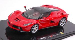 【送料無料】模型車 モデルカー スポーツカー ラフェラーリフェラーリレッドモデルホットホイールferrari la ferrari 2013 red 143 model hot wheels