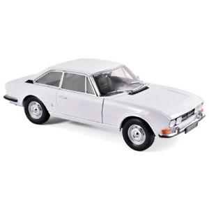 【送料無料】模型車 モデルカー スポーツカー プジョークーペホワイトpeugeot 504 coupe white 1969 118 184825 norev