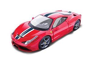 【送料無料】模型車 モデルカー スポーツカー レースフェラーリロッサタイプburago 118 raceamp;play auto ferrari 458 speciale rossa art 1816002