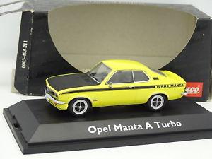 【送料無料】模型車 モデルカー スポーツカー オペルマンタターボschuco 143 opel manta a turbo jaune