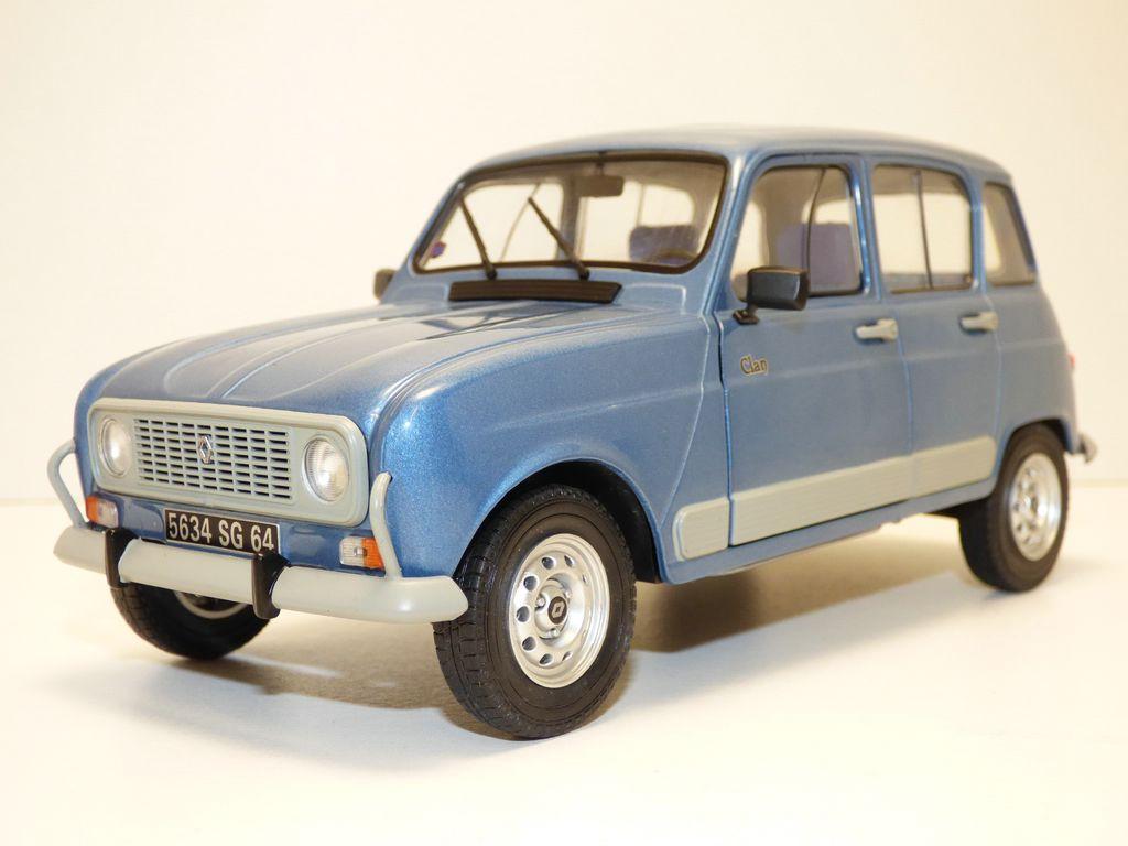 【送料無料】模型車 モデルカー スポーツカー ルノーrenault 4 l r4 4l gtl bleu ardoise 118