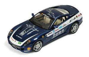 【送料無料】模型車 モデルカー スポーツカー フェラーリパンアメリカンハイウェイferrari 599 gtb panamericana blue 2006 143 fer074