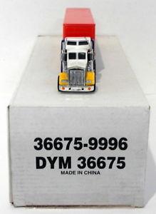 【送料無料】模型車 モデルカー スポーツカー マッチスケールトタートレーラーブッシュmatchbox 1100 scale dym36675 kenworth aerodyne tractor trailer busch