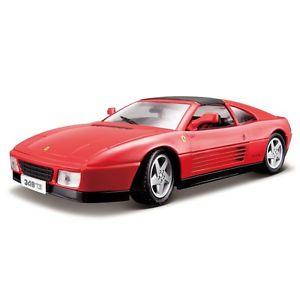 【送料無料】模型車 モデルカー スポーツカー レースフェラーリロッサタイプburago 118 raceamp;play auto ferrari 348ts rossa  art 1816006