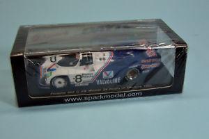 【送料無料】模型車 モデルカー スポーツカー ポルシェ#デイトナスパークneues angebotporsche 962 c 8 24h daytona 1985 143 spark