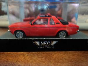 【送料無料】模型車 モデルカー スポーツカー ネオオペルエアロneo 143 opel kadett aero