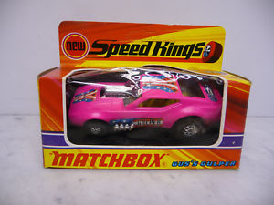 【送料無料】模型車 モデルカー スポーツカー ピンクボックスマッチボックスキングサイズミントスピードgus gulper pink mint in box matchbox k38 king size 143 speed kings 1972