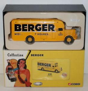【送料無料】模型車 モデルカー スポーツカー コーギースケールコレクションバーナードベルガータイプcorgi 150 scale collection berger 72011 bernard type 110 fourgon