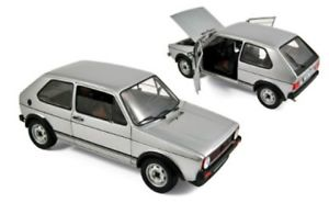 【送料無料】模型車 モデルカー スポーツカー ゴルフシルバーnorev vw golf i gti 1977 silber 118