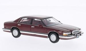 【送料無料】模型車 モデルカー スポーツカー ビュイックパークアベニューメタリックダークレッドネオスケール