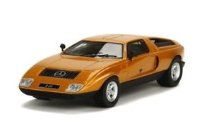 【送料無料】模型車 モデルカー スポーツカー メルセデスベンツゴールドメタリックボスneues angebotmercedes benz c111i gold metallic 1969 bos 143 43195