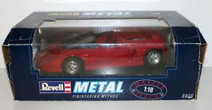 【送料無料】模型車 モデルカー スポーツカー revell 118 8806 pininfarina mythos red