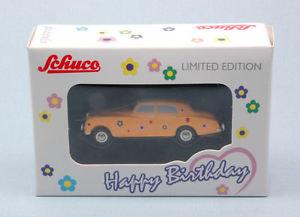 【送料無料】模型車 モデルカー スポーツカー ハッピーバースデーロールスロイスシルバークラウドモデルpiccolo rolls royce silver cloud happy birthday 2017 5cm model 5176 schuco