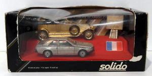 【送料無料】模型車 モデルカー スポーツカー スケールルノーセントフランスカブリオレsolido 143 scale 7032 renault centenery 18841984 france 40cv cabriolet