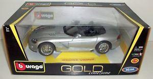 【送料無料】模型車 モデルカー スポーツカー ダッジバイパーシルバーburago 118 1812043 dodge viper srt10 silver
