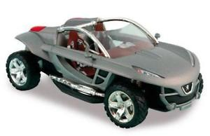 【送料無料】模型車 モデルカー スポーツカー プジョーpeugeot hoggar norev grigio 143