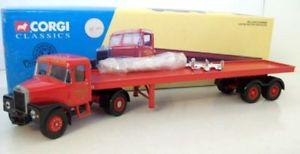 【送料無料】模型車 モデルカー スポーツカー コーギーマウンテンスプリングスフィートトレーラークックcorgi 150 16401 scammell highwayman amp; 33ft trailer set siddle c cook ltd