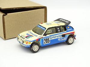 【送料無料】模型車 モデルカー スポーツカー エクスアンプロヴァンスムラージュキットモンプジョーパリダカールラリーprovence moulage kit mont 143 peugeot 205 t16 n205 rallye paris dakar 1988