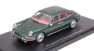 【送料無料】模型車 モデルカー スポーツカー ポルシェドアセダンモデルダークグリーンモデルporsche 911 s troutman amp; barnes 4door sedan dark green 143 model bos model