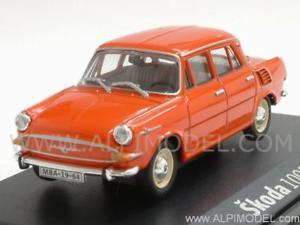 【送料無料】模型車 モデルカー スポーツカー シュコダオレンジネットワークskoda 1000 mb orange 143 abrex 143abs706bg