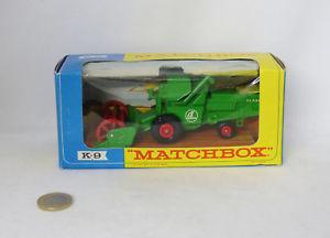 【送料無料】模型車 モデルカー スポーツカー マッチキングサイズニュージーランドmatchbox king size k9 combine harvester moissonneuse batteuse nmb a19