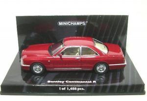 【送料無料】模型車 モデルカー スポーツカー ベントレーコンチネンタルbentley continental r red 1996